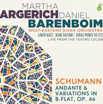 Cover: Schumann: Andante and Variations